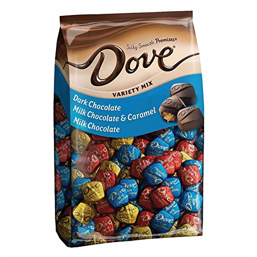 DOVE PROMISES Variety Mix Chocolate Candy 43.07-Ounce 153-Piece Bag (Candy Chocolate Milk)