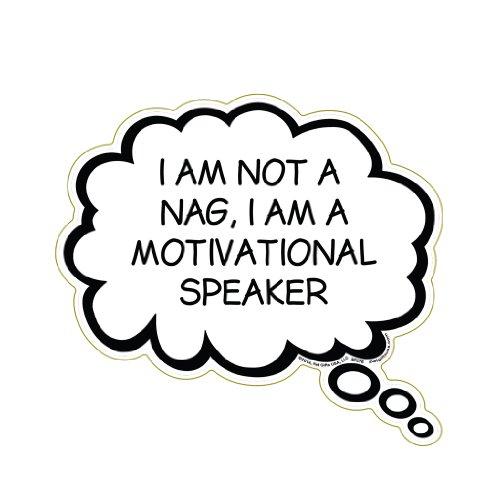 I Am Not A Nag, I Am A Motivational Speaker ()