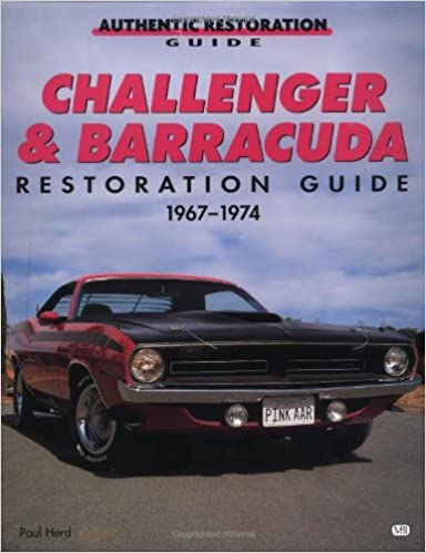 Challenger and barracuda restoration guide 1967 74 motorbooks challenger and barracuda restoration guide 1967 74 motorbooks workshop paul herd 9780760302071 amazon books fandeluxe Image collections