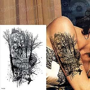 tzxdbh 3Pcs-Sketch Flor Tatuaje boceto diseño de Tatuaje ...