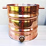 InCider Trading 2 Gallon Copper Moonshine Still Thumper Keg (Doubler)