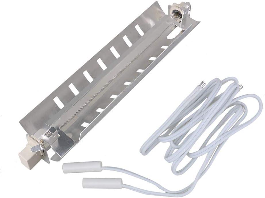 Bianco WR55X10025 Termistore del sensore di temperatura del congelatore del frigorifero Sostituisce 914093 WR55X10026 WR55X10027 WR55X10028 PS304103 AP3185407 Confezione da 2