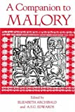 img - for 37: A Companion to Malory (Arthurian Studies) book / textbook / text book