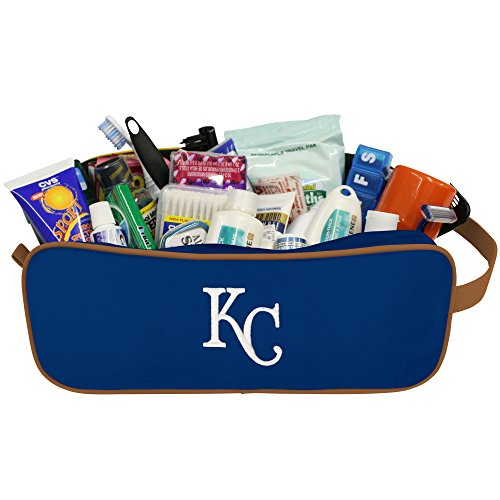 Charm14 MLB Kansas City Royals Travel Case with Embroidered Logo