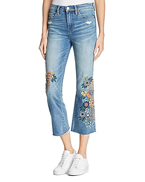 Amazon.com: [BLANKNYC] Pantalones vaqueros bordados ...