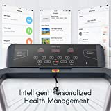 Merax Folding Electric Motorized Running Treadmill, Jogging Walking Machine with Bluetooth Function, Speakers, 15 Preset Programs, Incline Adjustment and Downloadable Sports App