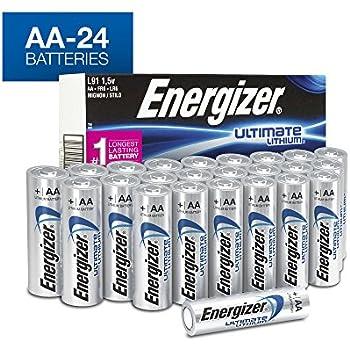 Amazon.com: Energizer L91 AA Ultimate Lithium 1.5V Battery