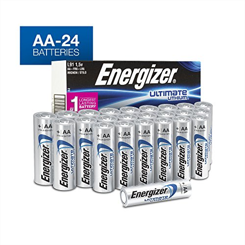 Energizer Lithium Aa Photo - Energizer Ultimate Lithium AA Batteries, (24 Count)