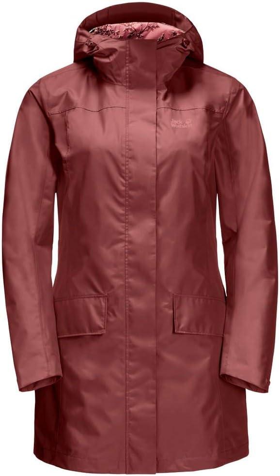 Jack Wolfskin York Women's Cape Coat: : Bekleidung