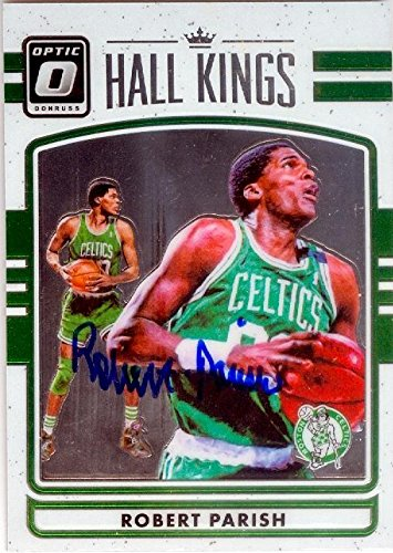 - Robert Parish autographed basketball card (Boston Celtics) 2016 Donruss Optic Chrome #22 Hall Kings