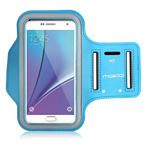 6 Plus MoKo Armband for iPhone 6s Plus // 6 Plus Samsung S8 Plus Fits Arm Girth 12.6-19.3 BLU Sweatproof Sports Armband Running Arm Band for iPhone 6S Plus Note 4//5 J7 Orange S7 Edge