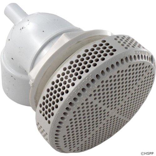 Waterway Plastics 640-3590 V 90 Ell 227 GPM Super Hi-Flo Suction Assembly, White -  640-3590V