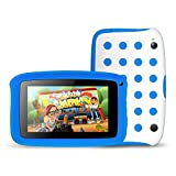 Tecwizz 7 Inch Kids Tablet PC with Special Case (Quad Core, 1GB & 8GB, HD, Google Android 5.1, WIFI Enabled) + Specially Designed Case With Stand (Blue)