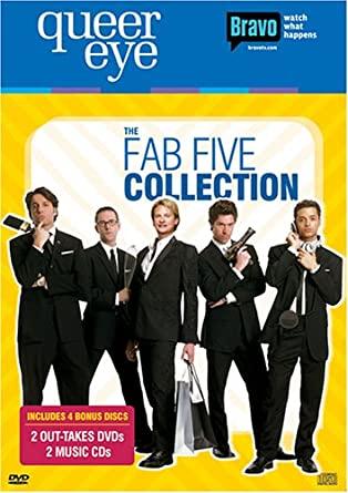 Amazon Com Queer Eye The Fab Five Collection Ted Allen Carson