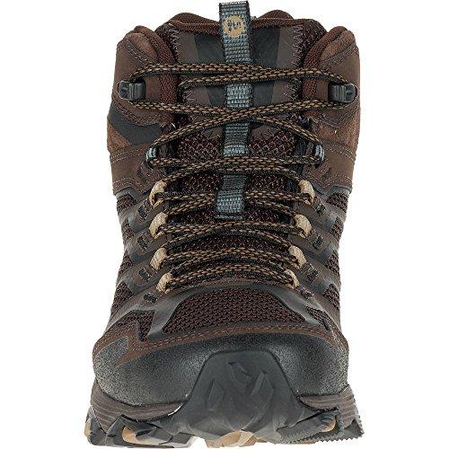 Trekking Wanderstiefel Mid Herren Moab Merrell Braun amp; Tex Gore FST HFTwxvn