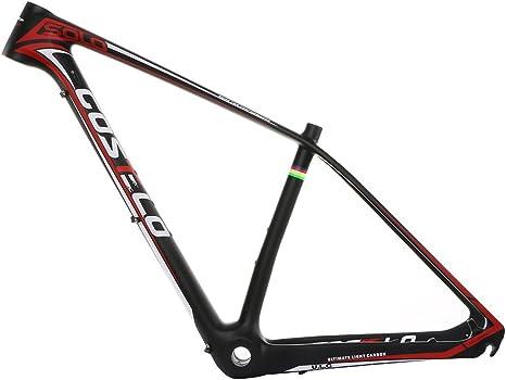 Costelo solo XC PRO MTB bicicleta de montaña de carbono marco torayca de fibra de carbono UD bicicleta 27.5er carbono 29er 650B MTB bicicleta marco, 29er 17