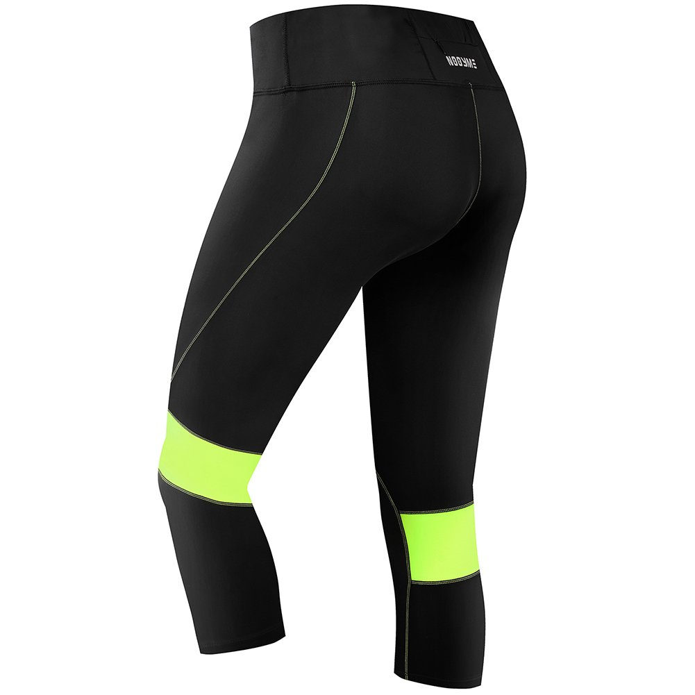 NOOYME Women Compression Workout Leggings Pants Running Tights 3 Colors