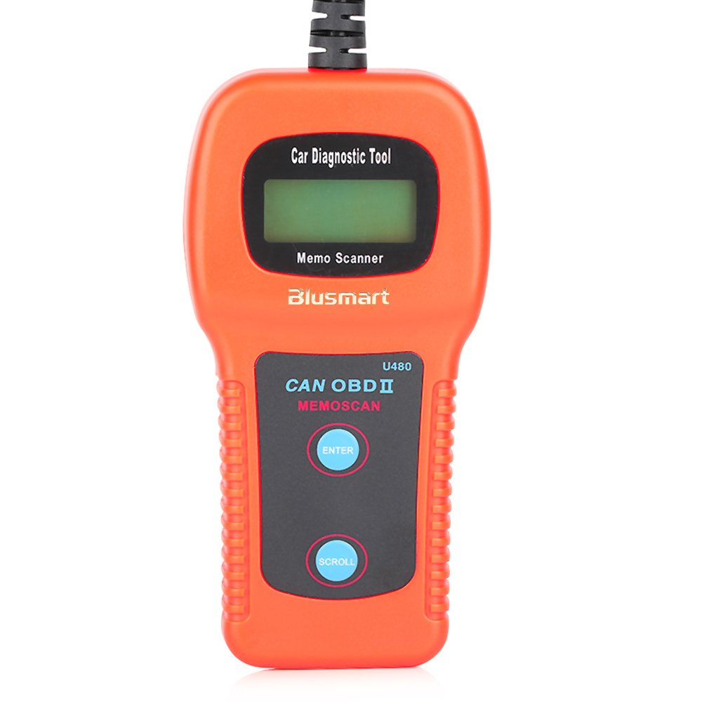 New u480 car diagnostic scanner tool can obdii obd2 memo engine fault code reader ver 2015 compatible with most obdii us european and asian vehicles
