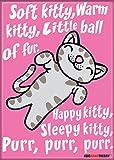 """Ata-Boy The Big Bang Theory Soft Kitty 2.5"""" x"""