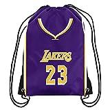 Foco Los Angeles Lakers Player Printed Drawstring