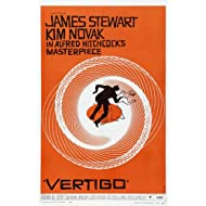 Alfred Hitchcock Vertigo Movie Poster 24x36