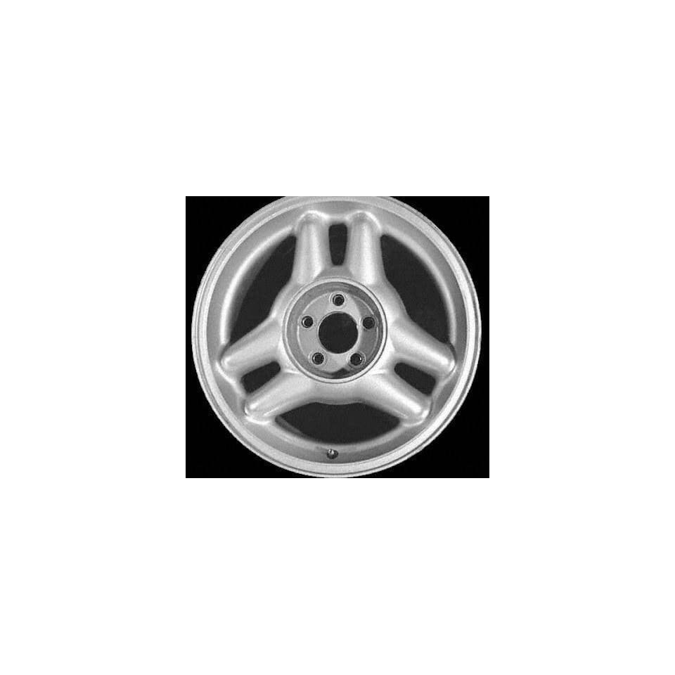 94 95 FORD MUSTANG ALLOY WHEEL RIM 17 INCH, Diameter 17, Width 8 (6 SPOKES), 30mm offset, BRIGHT SILVER, 1 Piece Only, Remanufactured (1994 94 1995 95) ALY03089U10