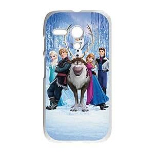 Frozen Motorola G Cell Phone Case White RUG