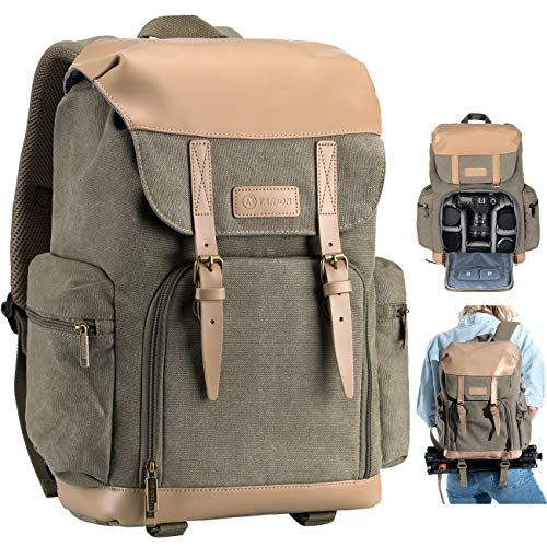 TARION Camera Backpack Canvas