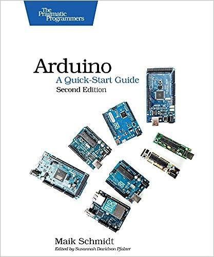 Book Arduino: A Quick-Start Guide
