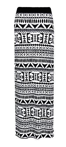 Big Maxi Plaine Elum Longue lastique Jupe Gitan Aztec Femmes qUqnxwaH