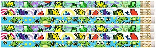 D1350 Frog Frenzy - 36 Cute Frogs Pencils