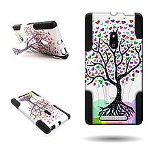 Lumia 830 Case, CoverON® for Nokia Lumia 830 Hybrid Kickstand Case [Dual Defense] Hard Heavy Duty Protective Shockproof Phone Cover - Love Tree Design