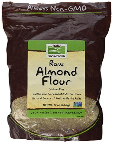 NOW Foods, Almond Flour with Essential Fatty Acids, 5 g Carbs per Serving, 22-Ounce