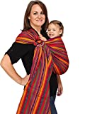 Maya Wrap ComfortFit Ring Sling & Baby Carrier - Bright Stripes - Medium