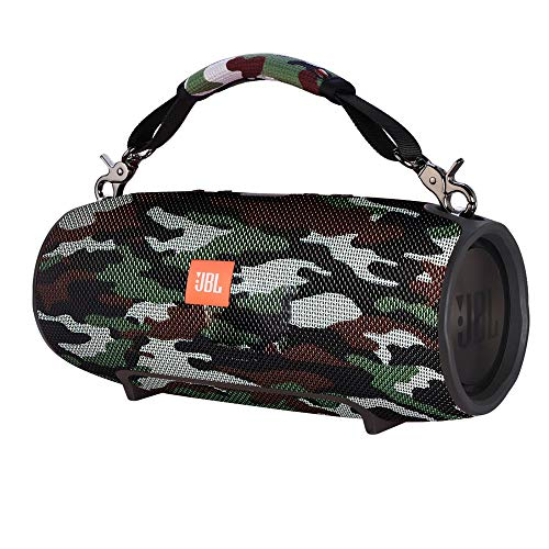 TXEsign Removable Speaker Handle Strap for JBL Xtreme Portable Bluetooth Speaker 1st Gen and 2nd Gen (Camo)