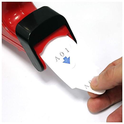 Cablematic - Dispensador de tickets Su Turno color rojo: Amazon.es: Electrónica