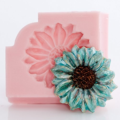 Flower Daisy Silicone Mold Food Safe Fondant, Chocolate,