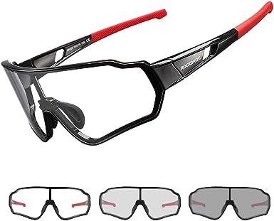 Rockbros Gafas Fotocromáticas Polarizadas De Sol Para Hombre Y Mujer Protección Uv400 Para Bicicleta Pesca Running Conducir Deportes Al Aire Libre Amazon Es Ropa Y Accesorios