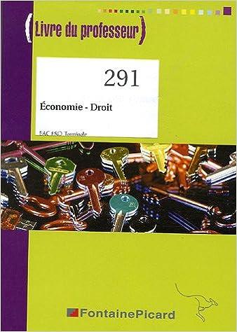 Lire en ligne Economie-Droit Tle Bac pro : Livre du professeur pdf, epub