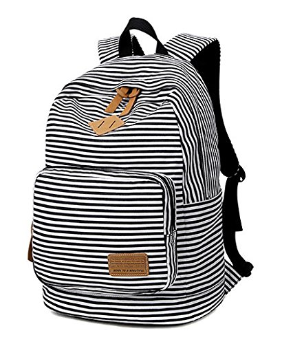 Backpack for Woman College-style Leisure Backpack Schoolbag Traveling Backpack Black