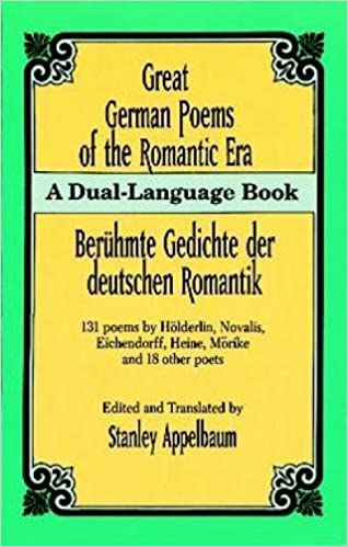 Amazon.com: Great German Poems of the Romantic Era: A Dual ...