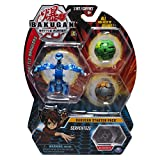 Bakugan Starter 3-Pack, Serpenteze, Collectible Cards & Figures
