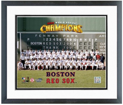2004 World Series Pictures (Boston Red Sox 2004 World Series Champions Formal Team Photo 12.5