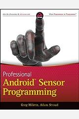 Professional Android Sensor Programming Paperback