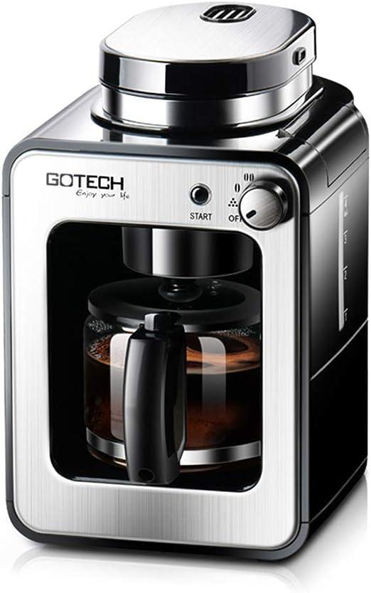 XGG Mini Cafetera, 4 Tazas De Cafetera Molida, 580 Ml, Cafetera ...