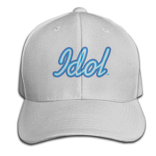 FeiZhiLin Idol Gray Baseball Hats Printed Casual for Unisex