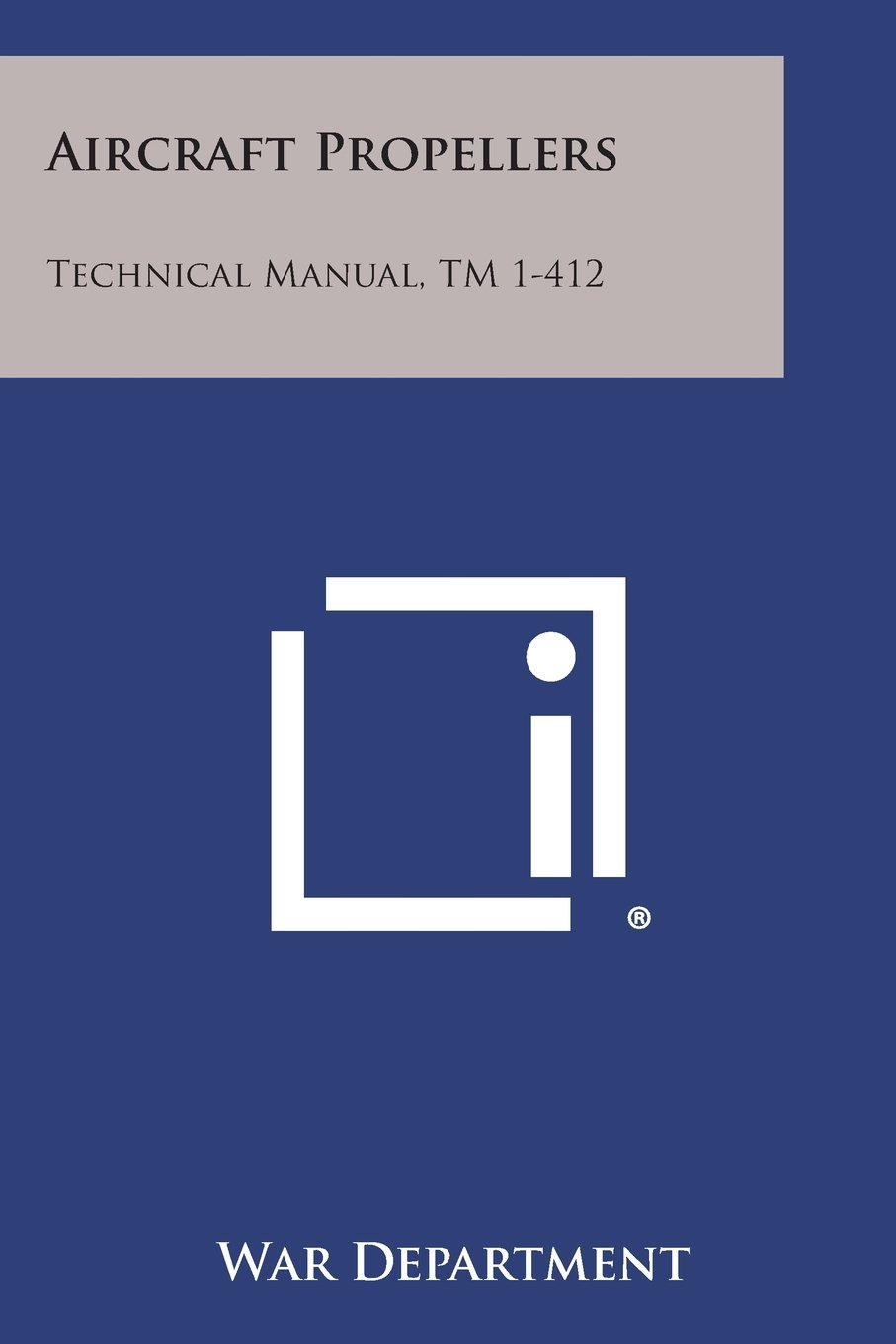 Download Aircraft Propellers: Technical Manual, TM 1-412 pdf