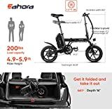 Eahora X3 350W Folding Electric Bicycle 14inch