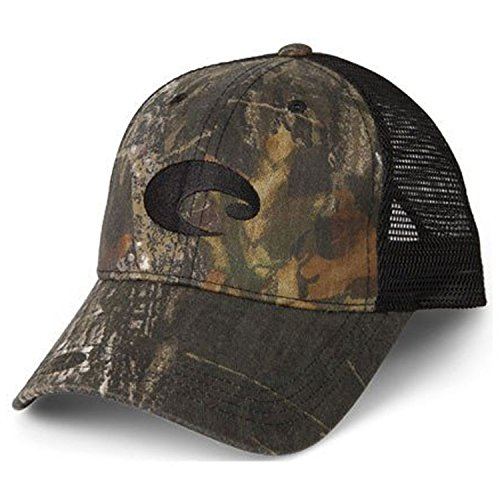 Costa Del Mar Mesh Hat, Mossy Oak New Breakup - Mar Del Costa Camo