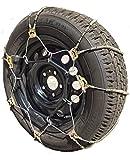 TireChain.com A2029 Diagonal Cable Tire Chains, Priced per Pair. 9.00-15, 9.50-16.5, 255/65-15, 205/75-17.5, 245/75-16, 31X11.5-15, 31X11.5-16.5, 285/60-17, 265/70-16, 275/55-17, 275/55-18, 285/45-19